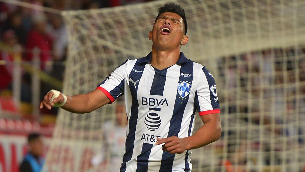 Jesús Gallardo, jugador del Monterrey
