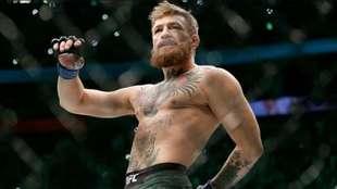 Conor McGregor, durante una pelea.