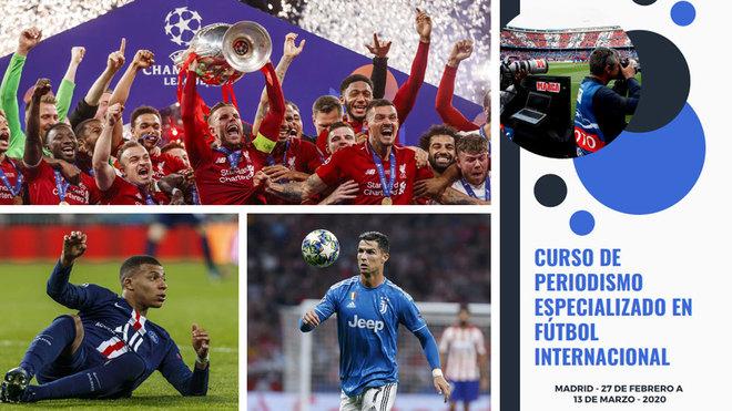 Curso de Periodismo Especializado en Fútbol Internacional.