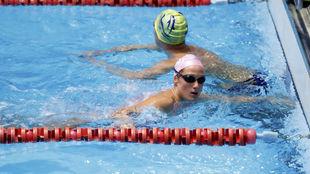 Mieria Belmonte, en un entrenamiento