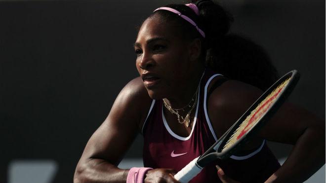Serena Williams, en un encuentro