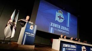 Fernando Vidal se dirige a la Asamblea de Accionistas como nuevo...