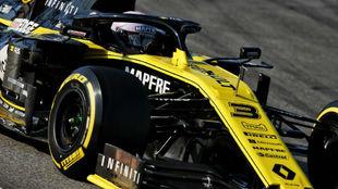 Daniel Ricciardo, en un Gran Premio de 2019.