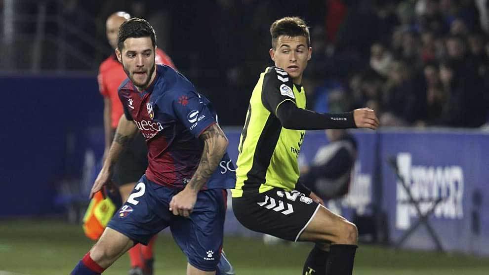 Miguelón fue el gran protagonista de la remontada del Huesca