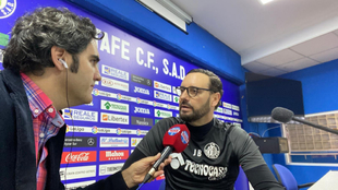 José Bordalas, entrevistado por Rafa Sahuquillo en Directo MARCA.