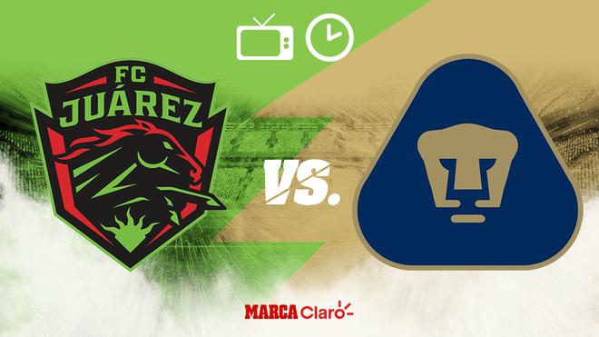 ¿A qué hora juegan los Pumas? ¿En qué estadio es el Juárez vs...