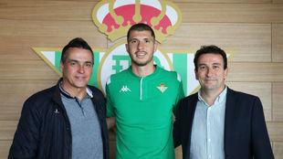 Guido, con Alexis y López Catalán