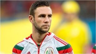 Layún con selección mexicana.