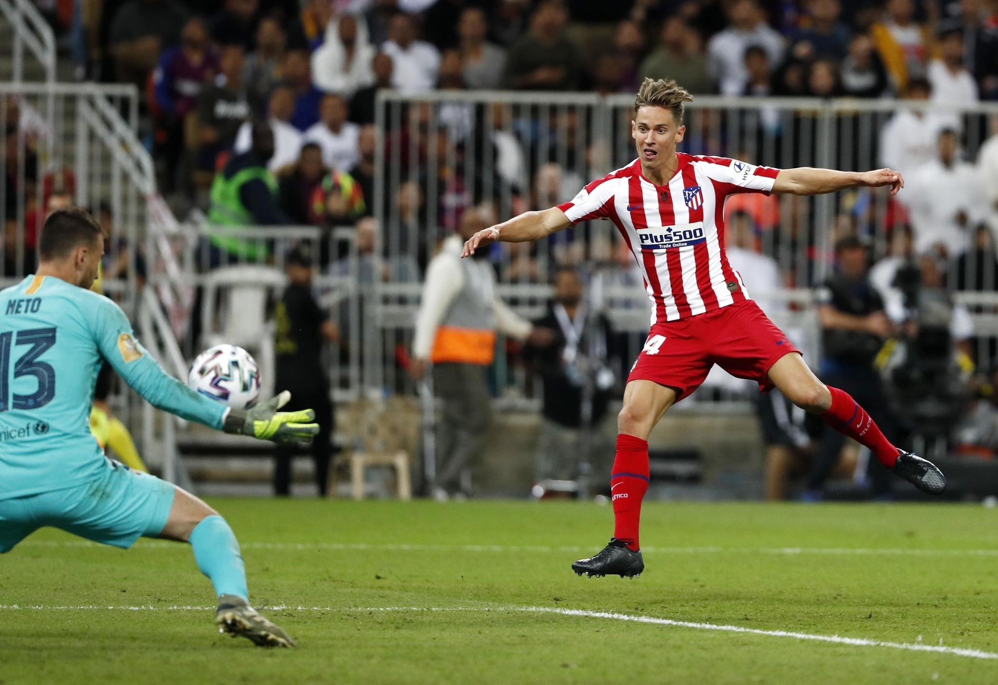 SEGUNDA SEMIFINAL SUPERCOPA DE ESPAÑA 2020 FC BARCELONA-ATLETICO DE MADRID
