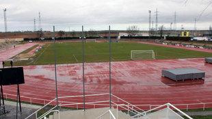 El estadio de Las Pistas.