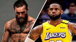 LeBron ha inspirado a McGregor.