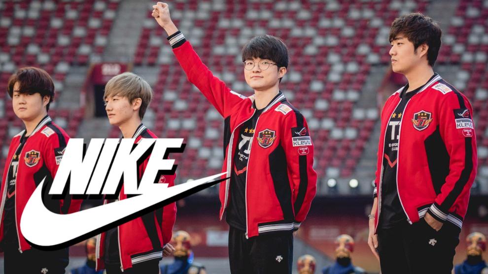 Elasticidad Supresión carencia  eSports: Nike firma un acuerdo clave con los coreanos T1   Marca.com