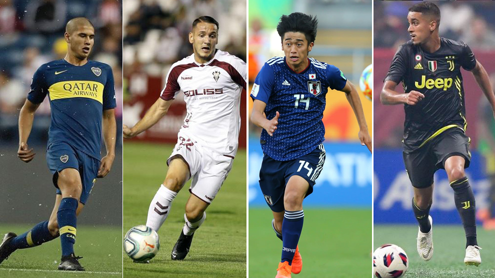 Ramos, Manaj, Nishikawa y Matheus.