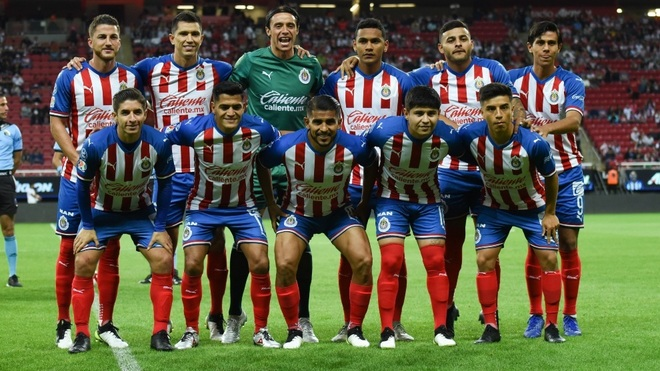 Once titular de las Chivas ante FC Juárez.