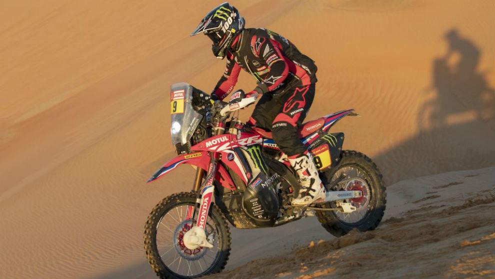 Ricky Brabec, en este Dakar.