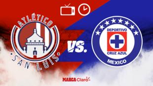 Atlético de San Luis vs Cruz Azul, horario y dónde ver.