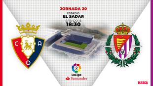 Osasuna - Valladolid: horario y dónde ver por TV hoy el partido de...