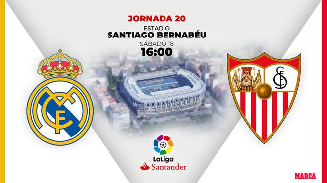 Real Madrid - Sevilla: horario y dónde ver por television hoy el...