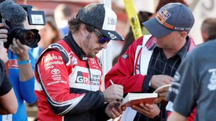 Fernando Alonso durante su participación en el Rally Dakar.