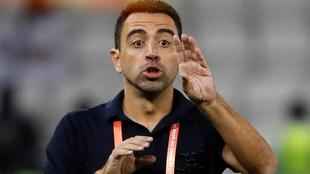 Xavi podría ganar otro título en Qatar.