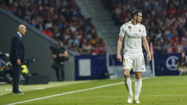 Gareth Bale, durante un partido de la presente temporada.