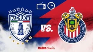 Pachuca vs Chivas, transmisión en vivo del partido de la liga mx