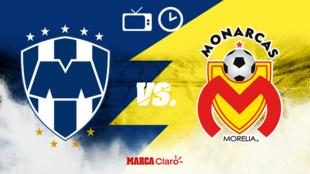 Rayados vs Monarcas: Horario para ver en vivo el partido de hoy