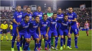 El once del Cruz Azul en San Luis.
