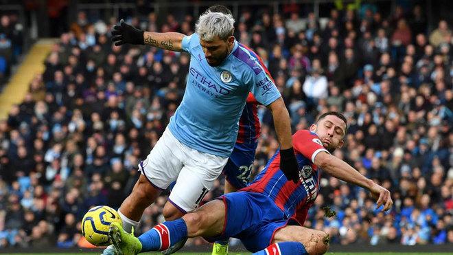 Agüero se convirtió en el cuarto goleador histórico de la Premier League