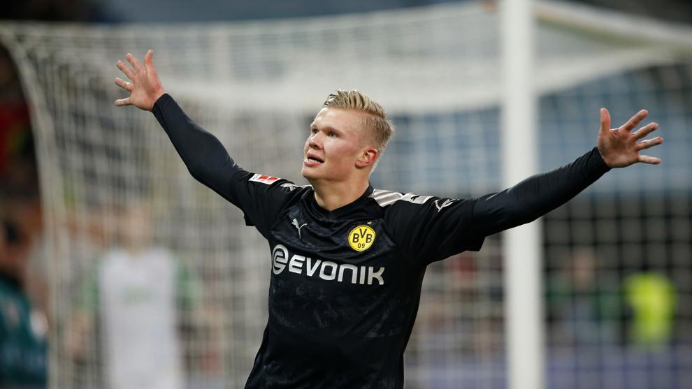 Augsburgo Vs Borussia Dortmund Haaland Se Estrena Con El