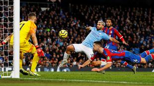 El Kun comandó al Manchester City, pero fue insuficiente.