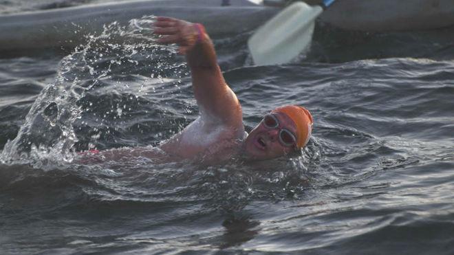 El nadador de aguas abiertas Jorge Crivillés.