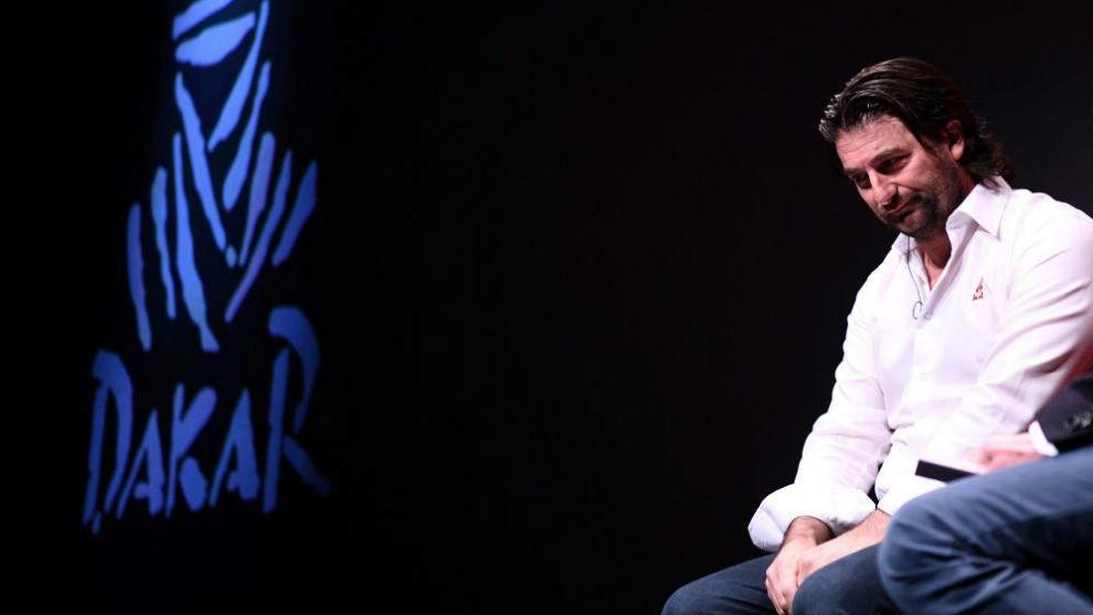 David Castera, jefe deportivo del Dakar.