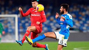 Napoli vs Fiorentina, en vivo minuto a minuto