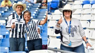 Aficionados de Monterrey.