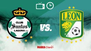 Santos vs León: Horario y dónde ver.