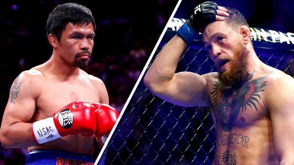 Pac Man y McGregor se podrían enfrentar.