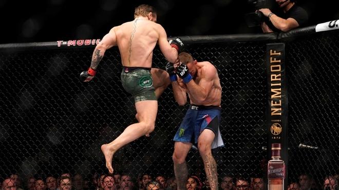 McGregor vs Cowboy Cerrone y el final más veloz en Las Vegas.
