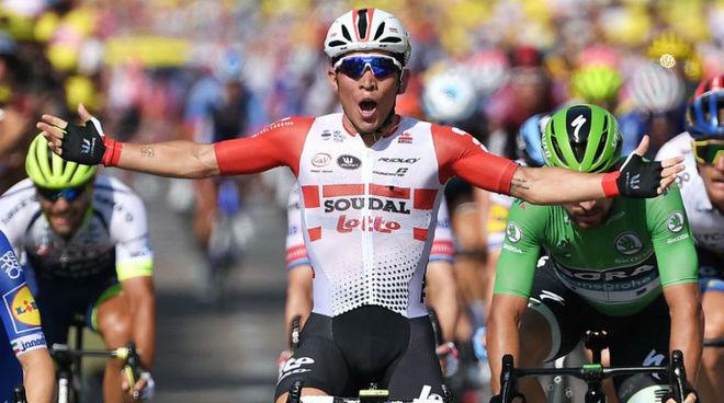 Ewan en el pasado Tour de Francia.