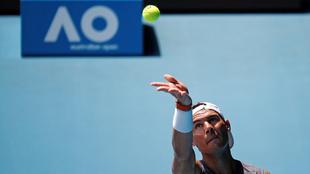 Nadal en el Australian Open.