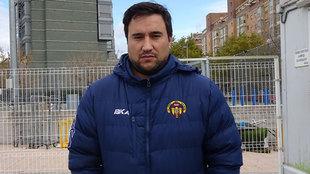 Juan Celis, director deportivo de Los Yébenes