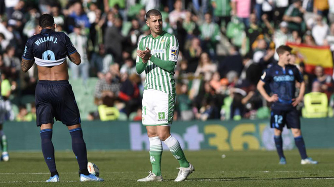 Guido Rodríguez, futbolista del Betis.