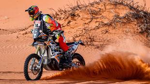 Jaume Betriu (KTM), durante esta edición del Dakar