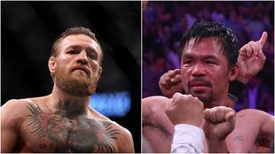 McGregor y Pacquiao, una pelea posible para la gente.