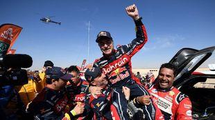 Carlos Sainz, ganador del Dakar 2020.