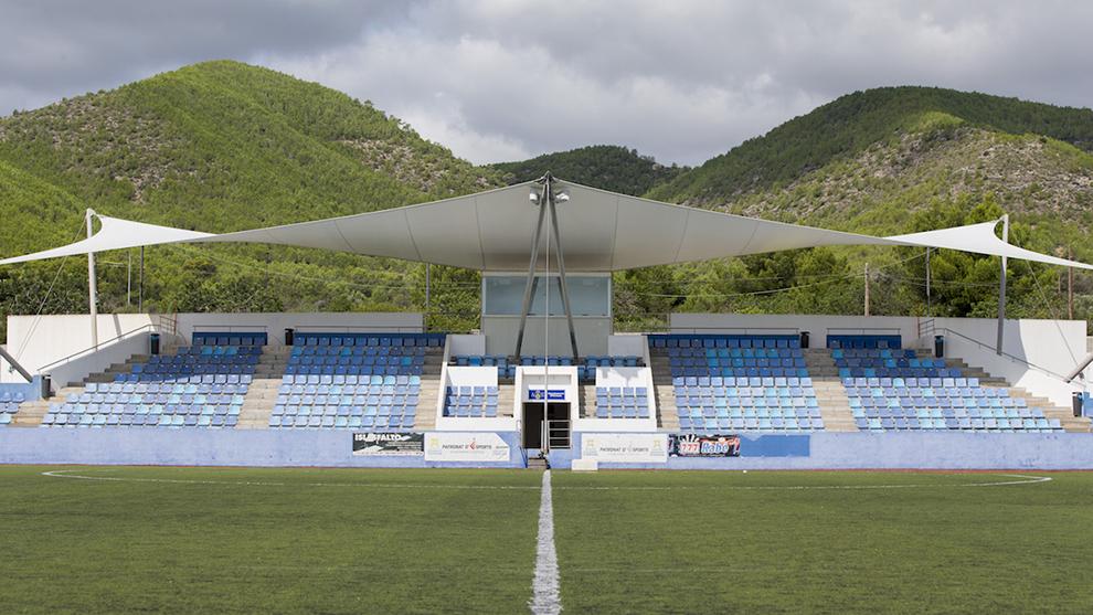 El estadio de Can Misses.
