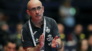 El seleccionador español, Jordi Ribera / EFE