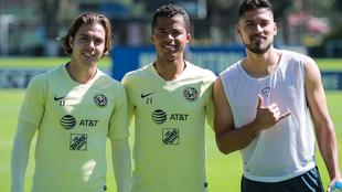 Córdova y Valdéz, siguen sin entrenar con el América.