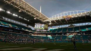 Imagen del Hard Rock Stadium.