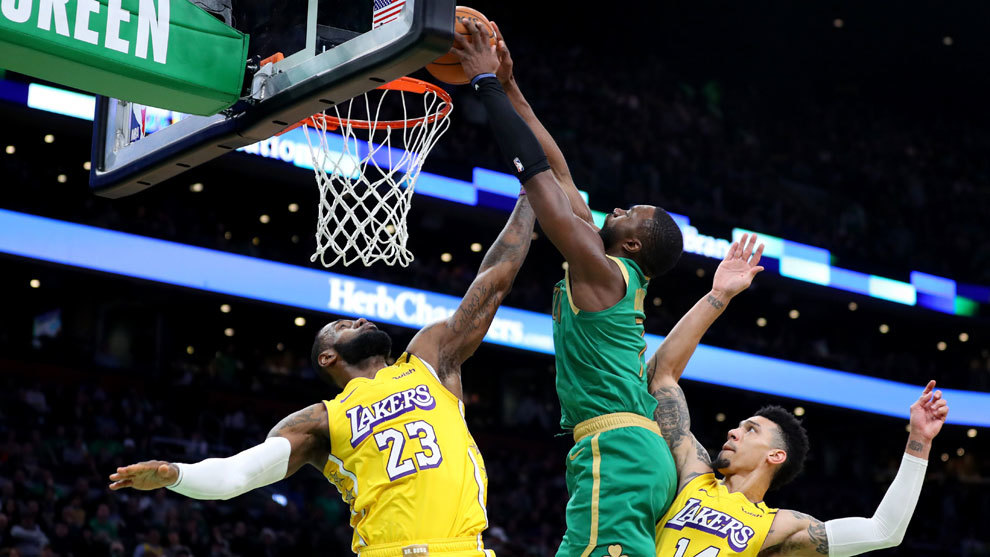 Celtics aplastan a Lakers en el día de Martin Luther King